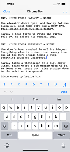 7 Must-Have Screenwriting iPhone Apps for Screenwriters